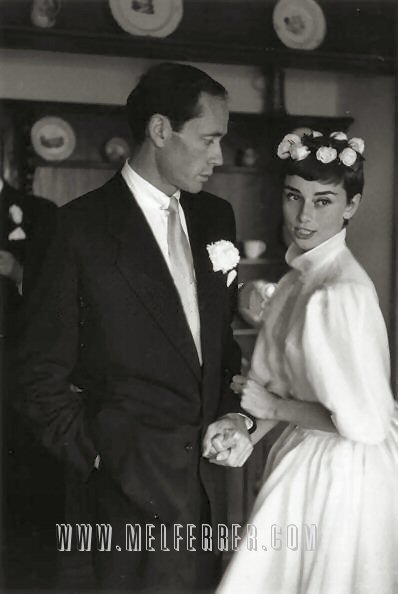 Audrey Hepburn 39s Wedding Dress