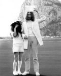 Yoko Ono's Wedding outift