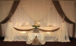 Head Table by Carol Rame Weddings