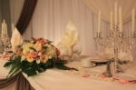 Detail of a Wedding Reception by Carol Rame