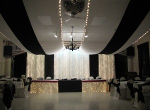 Black & White decor by Taylor Made Memories
