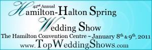 Hamilton-Halton Spring Wedding Show 2011