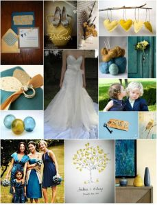 Teal & Gold Inspiration