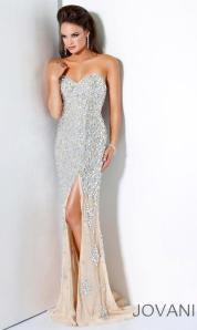 Evening gown from Atoriana's-neutral colours are so popular for 2012-2013 weddings