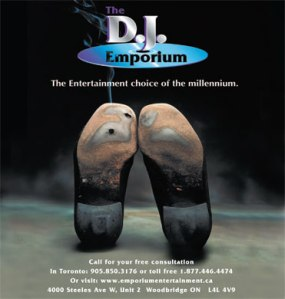 DJ Emporium exhibiting at Hamilton-Halton Fall Wedding Show 2012