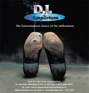 DJ Emporium exhibiting at Hamilton-Halton Fall Wedding Show 2012
