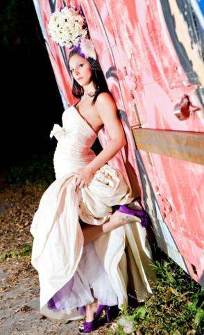 Fun and Fearless Bridal photos by KPush Studios