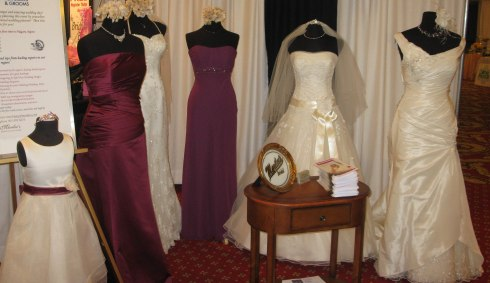 Marilee's Booth at the Niagara Autumn Wedding Show 2012