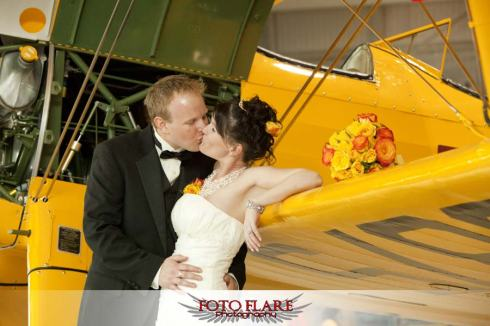 Canadian Warplane Heritage Museum is a vendor at the Hamilton Wedding Show