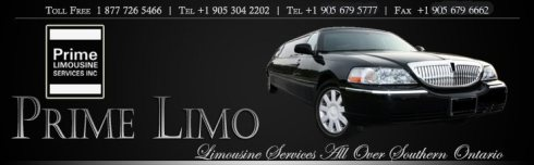 Prime Limousine is participating in the Hamilton-Halton Wedding Show 2013