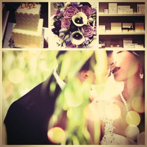 collage of amazing wedding day inspiration from the Hamilton-Halton & Niagara Wedding Shows