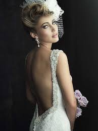 One of TopWeddingShows.com favourite gowns in the backless wedding dress trend